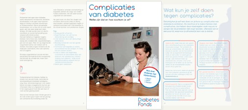 DiabetesFonds subscribe page image